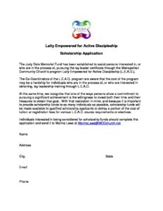 LEAD Scholarship Application 2015 232x300 - LEAD Scholarship Application 2015